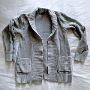 Gray Gap Pocket Cardigan